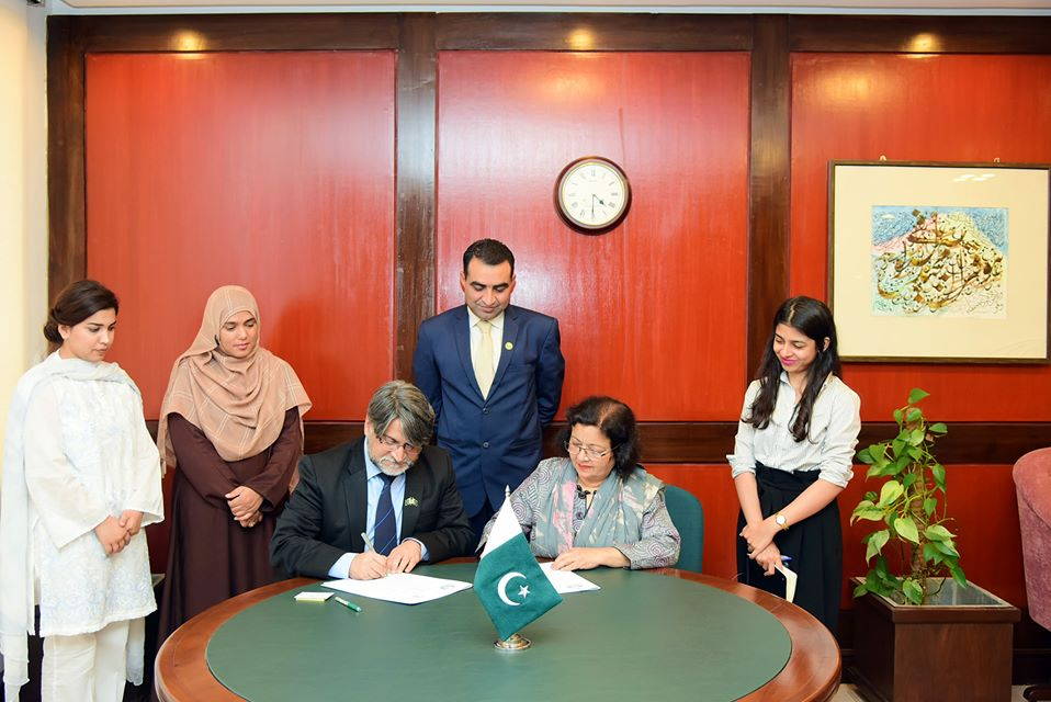 Idara e Taleem o Aagahi has signed an MoU with Pakistan Institute for Parliamentary Services PIPS
