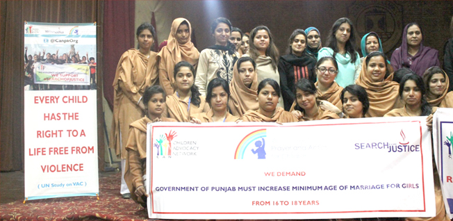 Recent Legislative Development on Child Marriages in Punjab - CAN