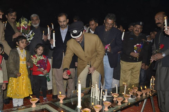 Vigils to show our solidarity with the affected families, Rahim Yar Khan