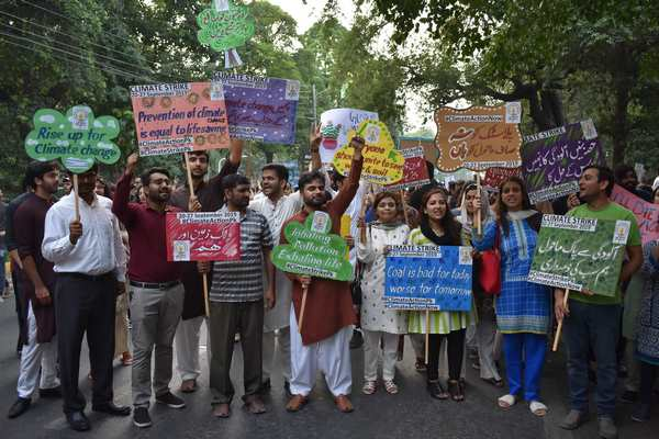 Climate Change March - Lahore