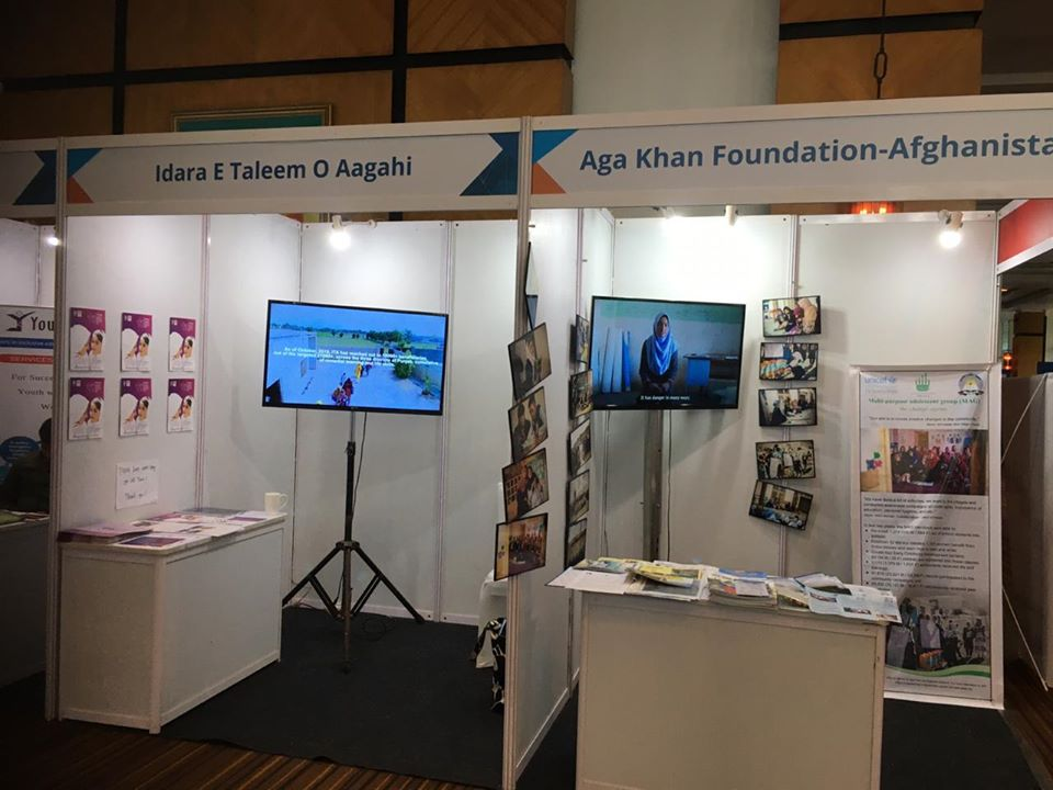 A3G stall by ITA at South Asia Youth Skills & Solutions Forum being held in Mumbai from Oct 29-31