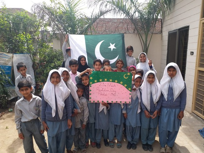Pakistan Resolution day celebrated in LSK campuses