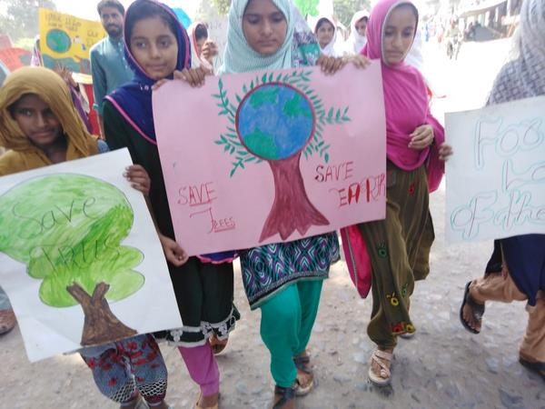 Climate Change March - Muzaffargarh