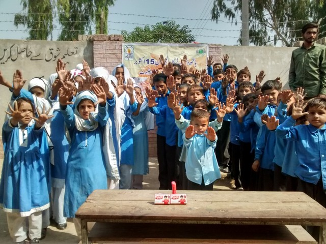Global Handwashing Day - Our hands, our future