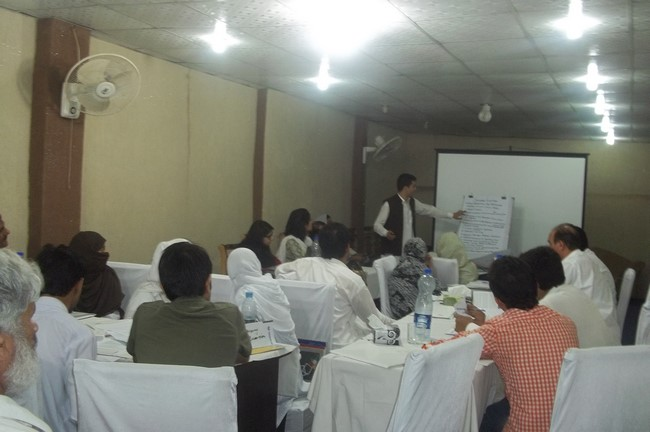 NEP Consultative Meeting Peshawar