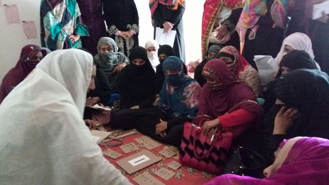 Para Teachers Training Through Different Activities Adopted from CAMAL Methodology in DI khan - Females