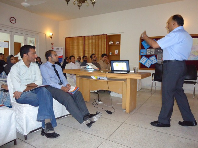 Teacher Training Workshop, Karachi (8 March 2103)