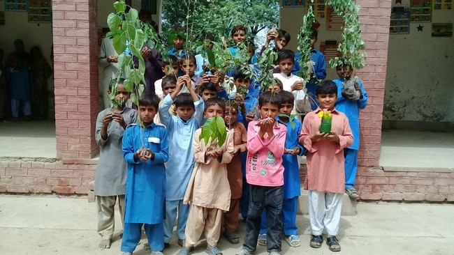 "Idara-e-Taleem-o-Aagahi (ITA) has planted 7000 plants under campaign ""#Plant4Pakistan"" launched by Government of Pakistan"