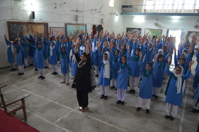 Heart Connection Tour - Government Central Model School for Girls