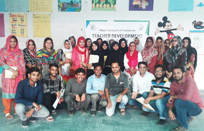 3 Days Training of LSK Teachers on Teacher Development Program