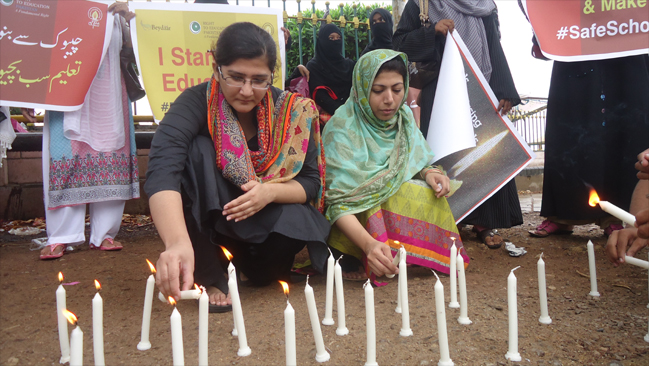 219 Girls 100 Days Missing #BringBackOurGirls - Karachi