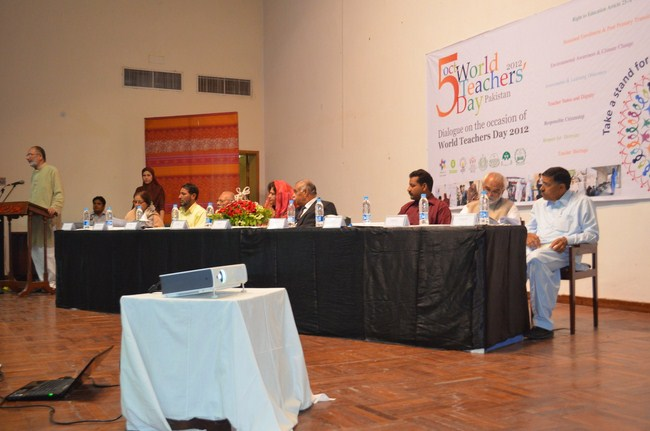 World Teacher's Day 2012